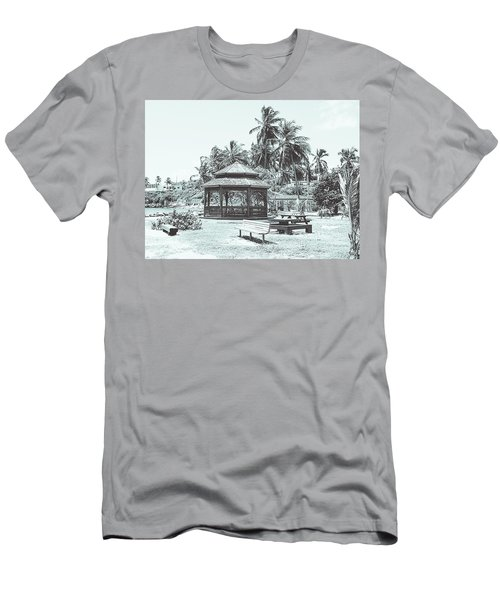 Pagoda On The Sea Men's T-Shirt (Athletic Fit)