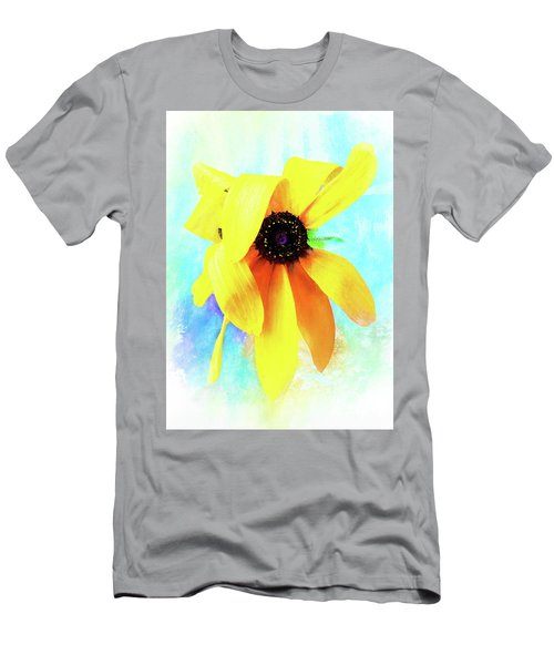 Flopsy - A Charming Wild Black-eyed Susan  Men's T-Shirt (Athletic Fit)