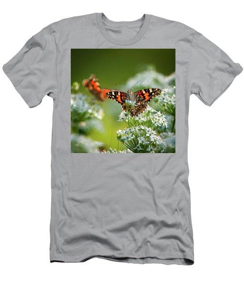 Painted Ladies Men's T-Shirt (Athletic Fit)