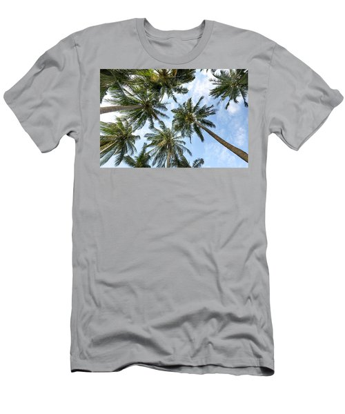 Palms  Beach Men's T-Shirt (Athletic Fit)