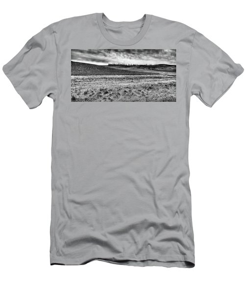 Men's T-Shirt (Athletic Fit) featuring the photograph Palouse Treeline by David Patterson