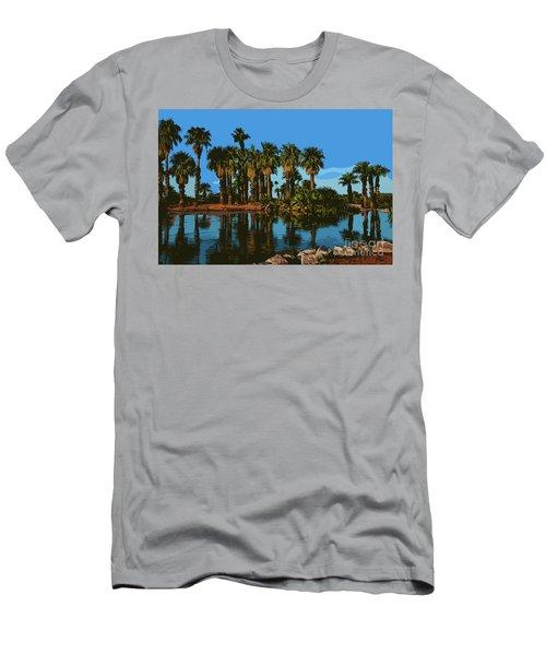 Papago Park Palms Men's T-Shirt (Athletic Fit)