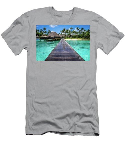 Rangiroa, Tuamotu - Paradise On Earth Men's T-Shirt (Athletic Fit)