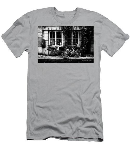 Men's T-Shirt (Athletic Fit) featuring the photograph Paris At Night - Rue Poulletier by Miles Whittingham