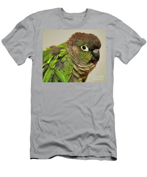 Men's T-Shirt (Athletic Fit) featuring the photograph Parker by Debbie Stahre