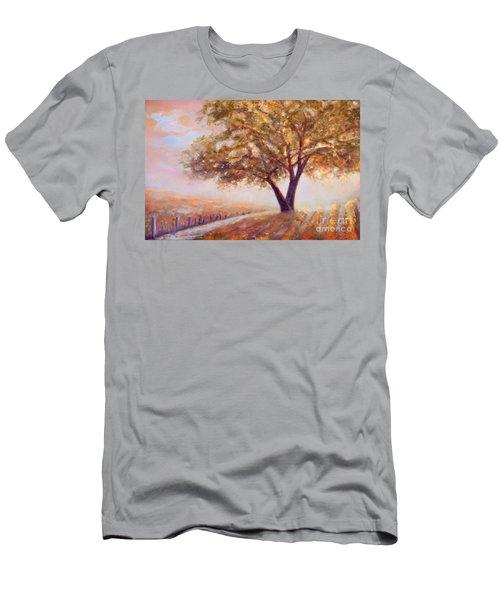 Paso Robles Oak Tree Men's T-Shirt (Athletic Fit)
