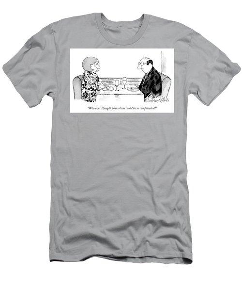 Patriotism Men's T-Shirt (Athletic Fit)