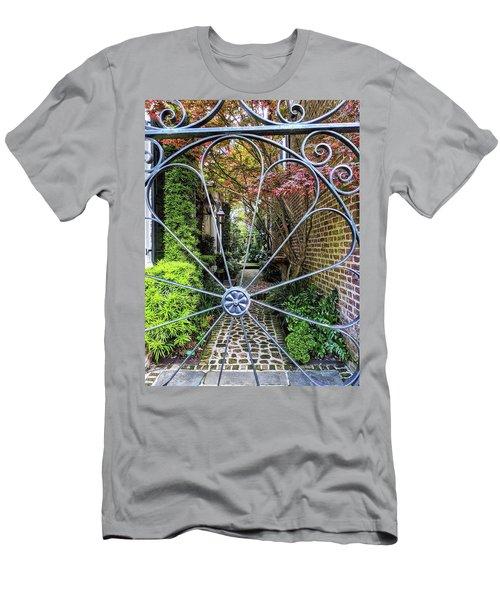 Peek-a-boo Garden Men's T-Shirt (Athletic Fit)