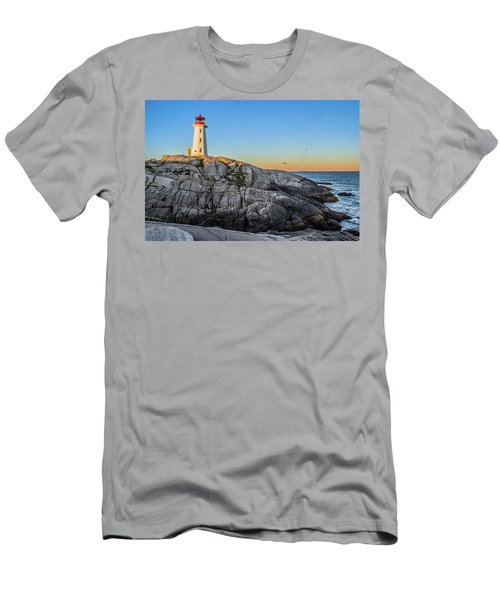 Peggys Cove Lighthouse Men's T-Shirt (Athletic Fit)