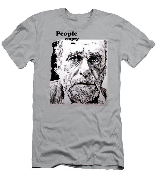 People Empty Me Men's T-Shirt (Athletic Fit)
