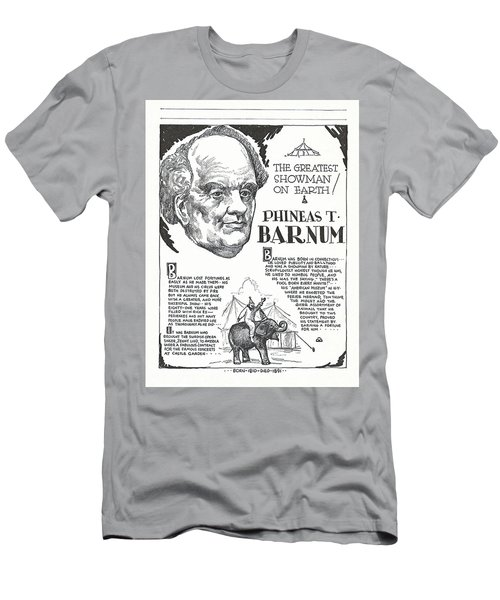 Phineas T. Barnum - The Greatest Showman On Earth Men's T-Shirt (Athletic Fit)