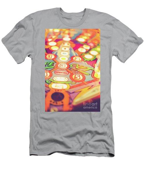 Pinball Machine Playfield Men's T-Shirt (Athletic Fit)