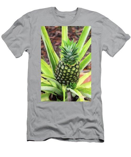 Pineapple Men's T-Shirt (Athletic Fit)