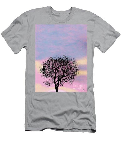 Pink Sunset Men's T-Shirt (Athletic Fit)