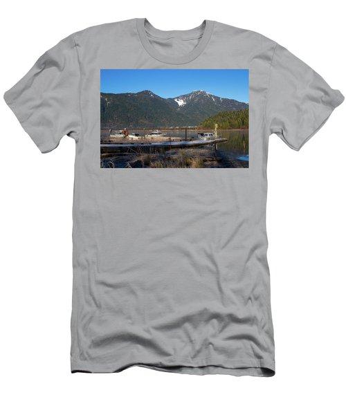Pitt Lake Winterimpression Men's T-Shirt (Athletic Fit)