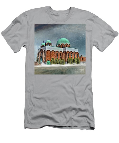 Place Of Worship Men's T-Shirt (Athletic Fit)