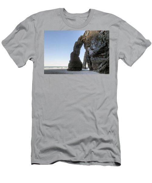 Playa De Las Catedrales - Spain Men's T-Shirt (Athletic Fit)