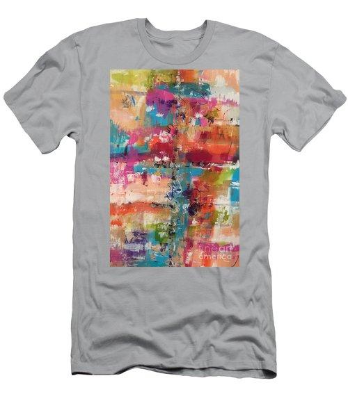 Playful Colors Men's T-Shirt (Athletic Fit)