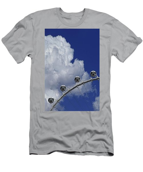 Men's T-Shirt (Athletic Fit) featuring the photograph Pod Cluster 2 by Skip Hunt