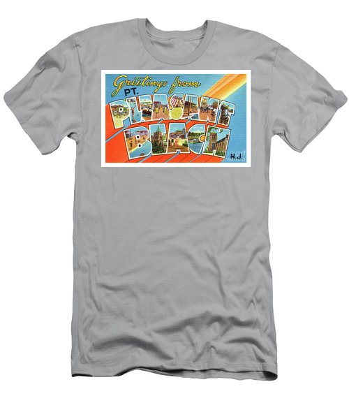 Point Pleasant Beach Greetings Men's T-Shirt (Athletic Fit)