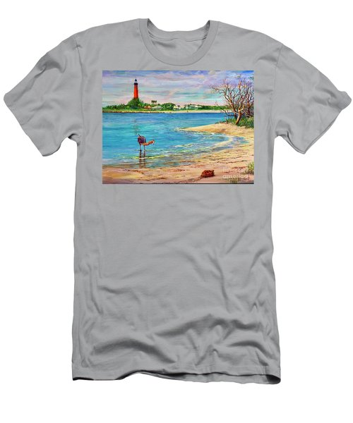 Ponce Inlet Lighthouse Men's T-Shirt (Athletic Fit)