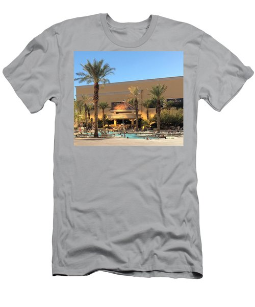 Poolside Men's T-Shirt (Athletic Fit)