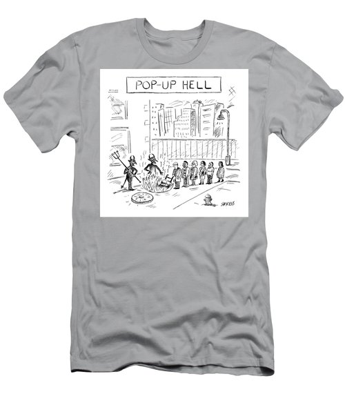 Pop Up Hell Men's T-Shirt (Athletic Fit)