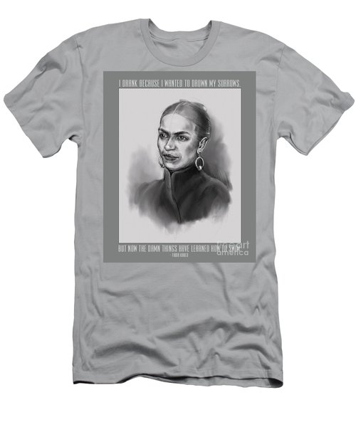 Portrait Of Frida Kahlo Men's T-Shirt (Athletic Fit)