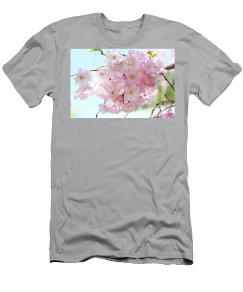 Pretty Pink Blossoms Men's T-Shirt (Athletic Fit)