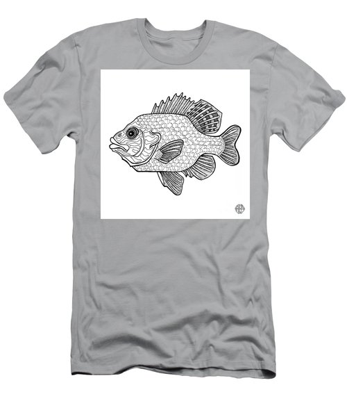 Pumpkinseed Fish Men's T-Shirt (Athletic Fit)