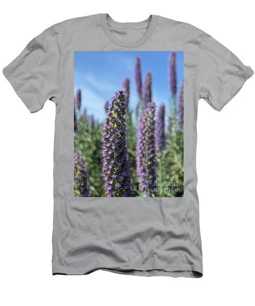 Purple Hyssop  Men's T-Shirt (Athletic Fit)