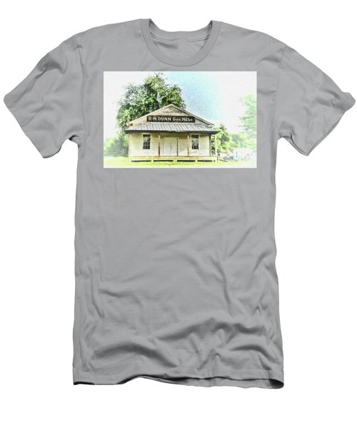 Quiet Reminder Of Yesterday In Goochland, County Virginia Men's T-Shirt (Athletic Fit)