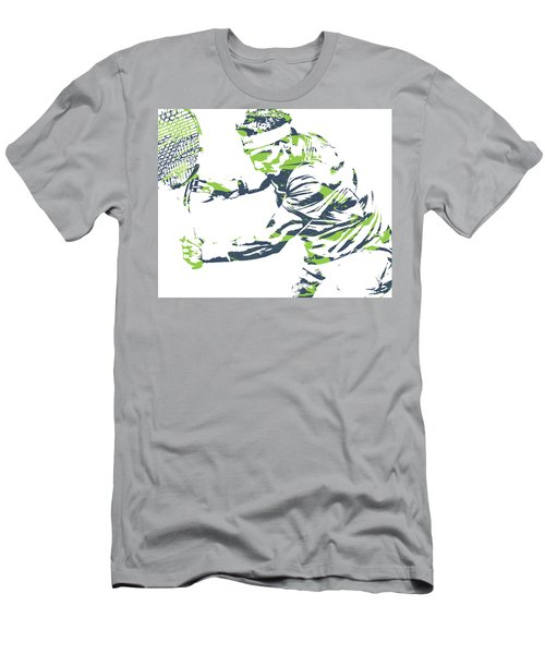 Rafael Nadal Tennis Pixel Art 1 Men's T-Shirt (Athletic Fit)