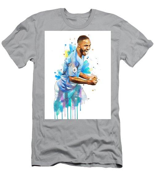 Raheem Sterling, Manchester City Men's T-Shirt (Athletic Fit)