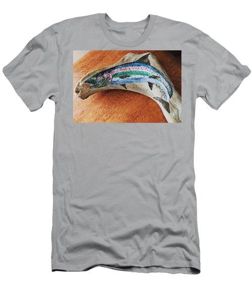 Rainbow Trout #1 Men's T-Shirt (Athletic Fit)