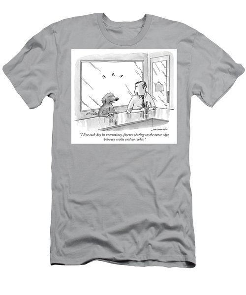 Cookie And No Cookie Men's T-Shirt (Athletic Fit)