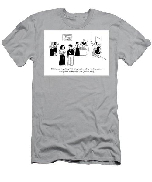 Reasons For Having Kids Men's T-Shirt (Athletic Fit)