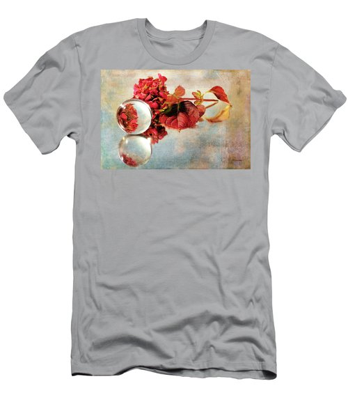 Men's T-Shirt (Athletic Fit) featuring the photograph Reflective Mood by Randi Grace Nilsberg