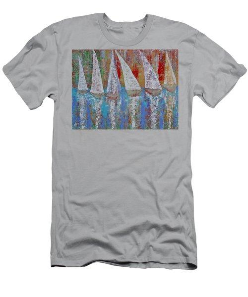 Regatta Original Painting Men's T-Shirt (Athletic Fit)