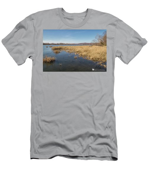 River Grass Men's T-Shirt (Athletic Fit)