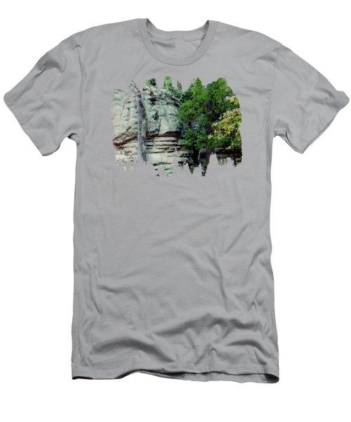 Rock Groups Men's T-Shirt (Athletic Fit)