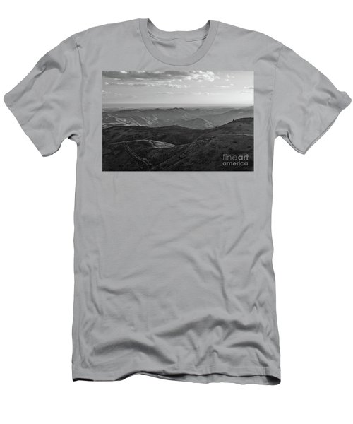 Rolling Mountain Men's T-Shirt (Athletic Fit)