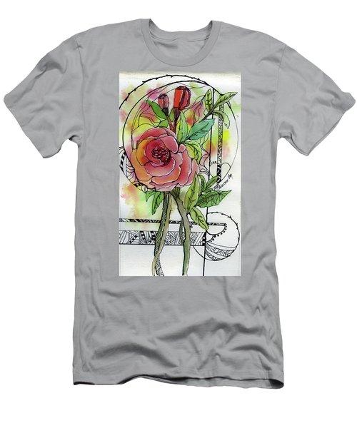 Rose Is Rose Men's T-Shirt (Athletic Fit)