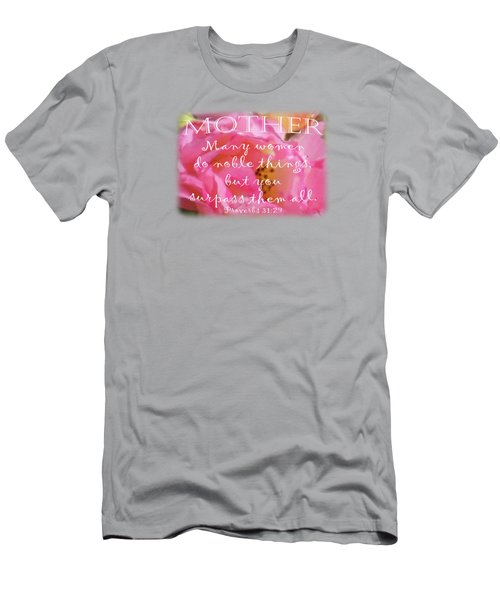 Roses - Verse Men's T-Shirt (Athletic Fit)
