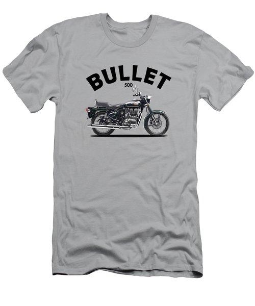 Royal Enfield Bullet 500 Men's T-Shirt (Athletic Fit)