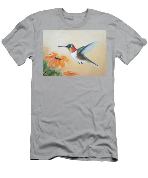 Rufous In Marigolds  Men's T-Shirt (Athletic Fit)