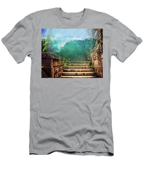 Run Run Run Men's T-Shirt (Athletic Fit)