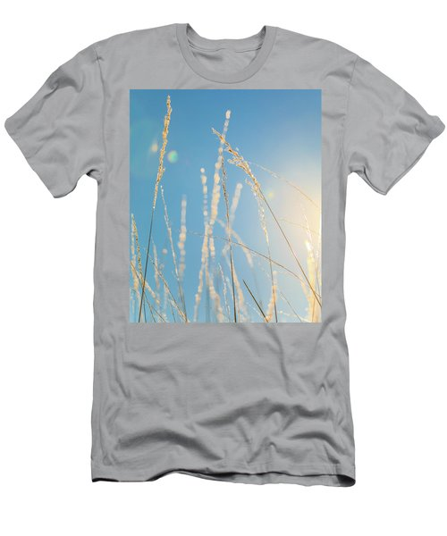 Men's T-Shirt (Athletic Fit) featuring the photograph Rural Sunflare by Dan Sproul