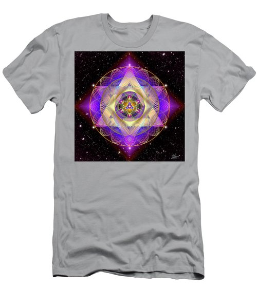 Sacred Geometry 741 Men's T-Shirt (Athletic Fit)