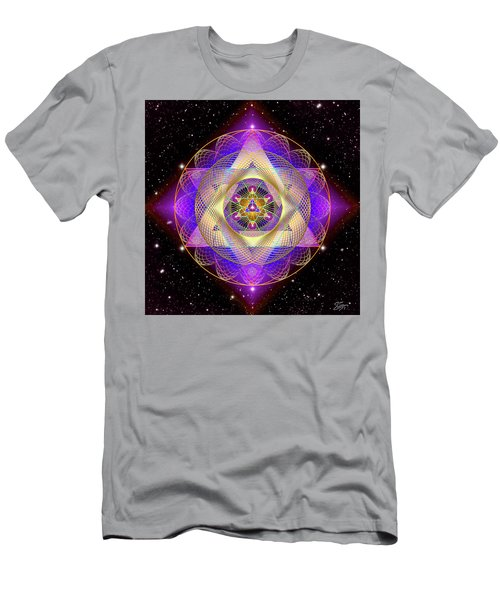 Sacred Geometry 741 Men's T-Shirt (Athletic Fit)